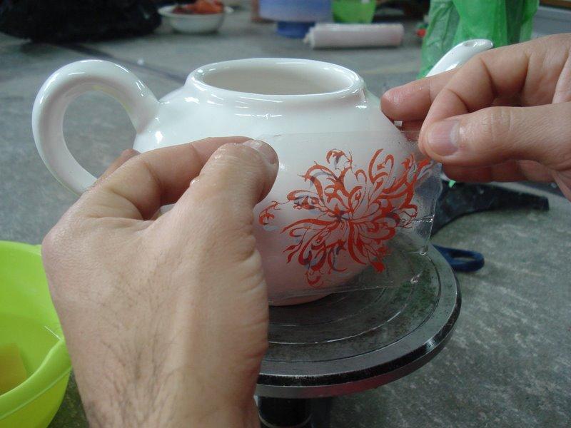 Serigraf a cer mica t cnica de decoraci n seriada for Tecnicas para esmaltar ceramica
