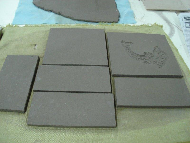 Impresi n en relieve t cnica cer mica cer mica san telmo for Tecnicas para esmaltar ceramica