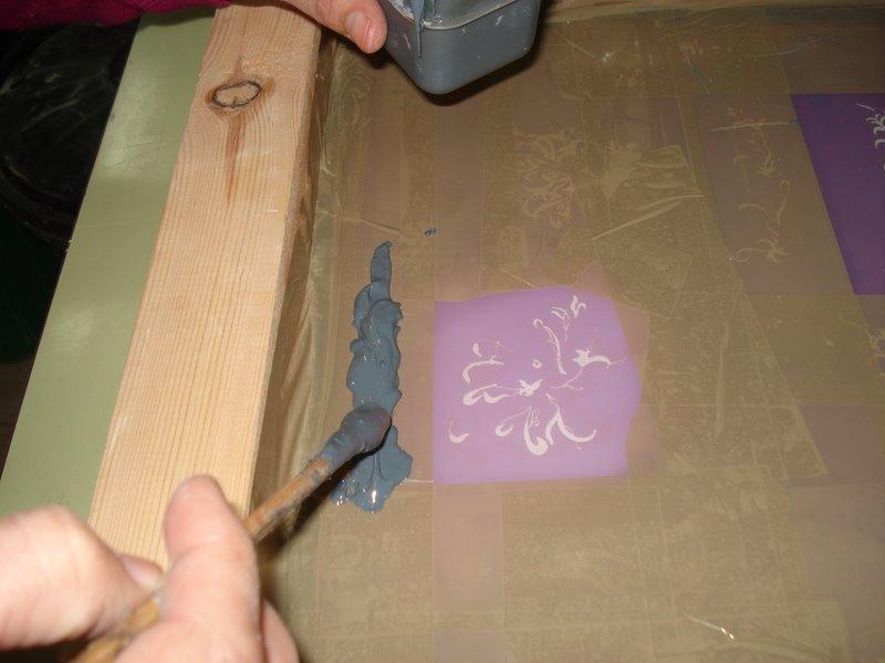 Serigraf a cer mica t cnica de decoraci n seriada - Juego para hacer ceramica ...