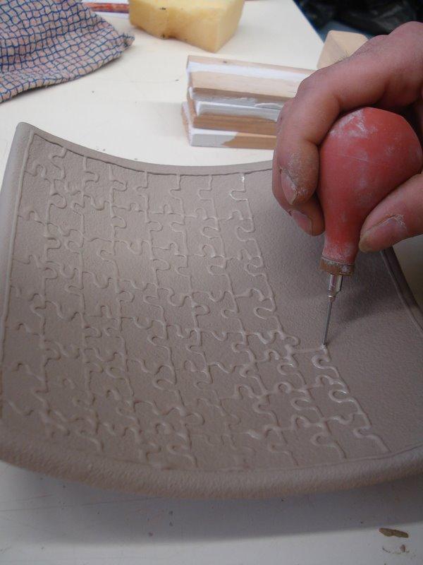 Aula de cer mica ii pav tav t cnicas de decoraci n for Tecnicas para esmaltar ceramica