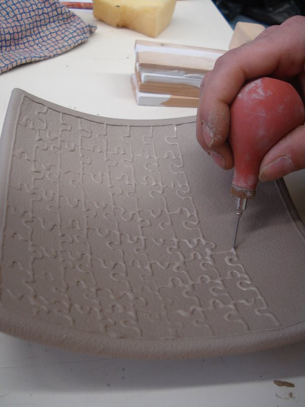 T cnicas decorativas con engobes cer mica san telmo - Colores de ceramica ...
