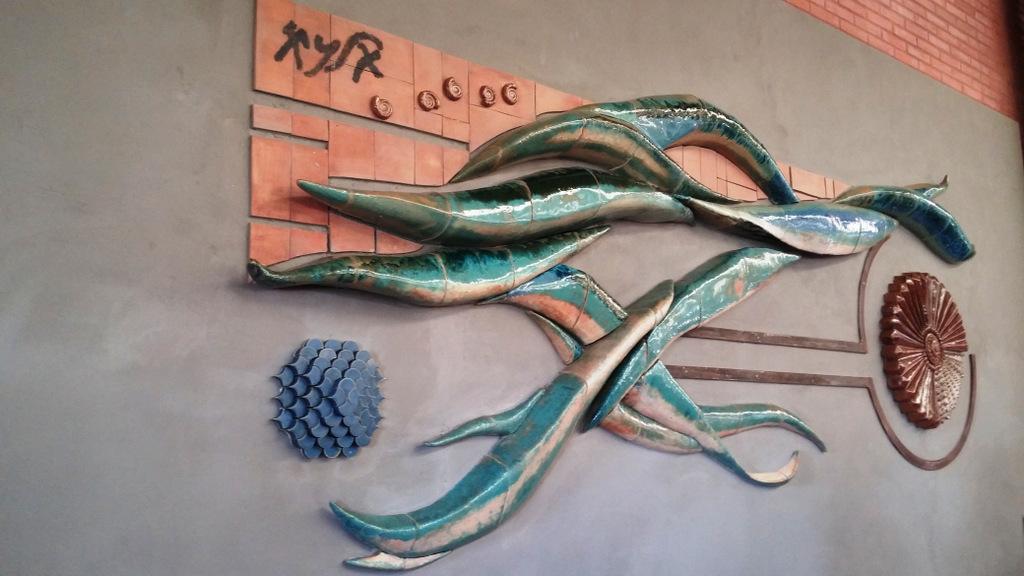Mural el origen fenicio de m laga complejo - Murales de ceramica artistica ...